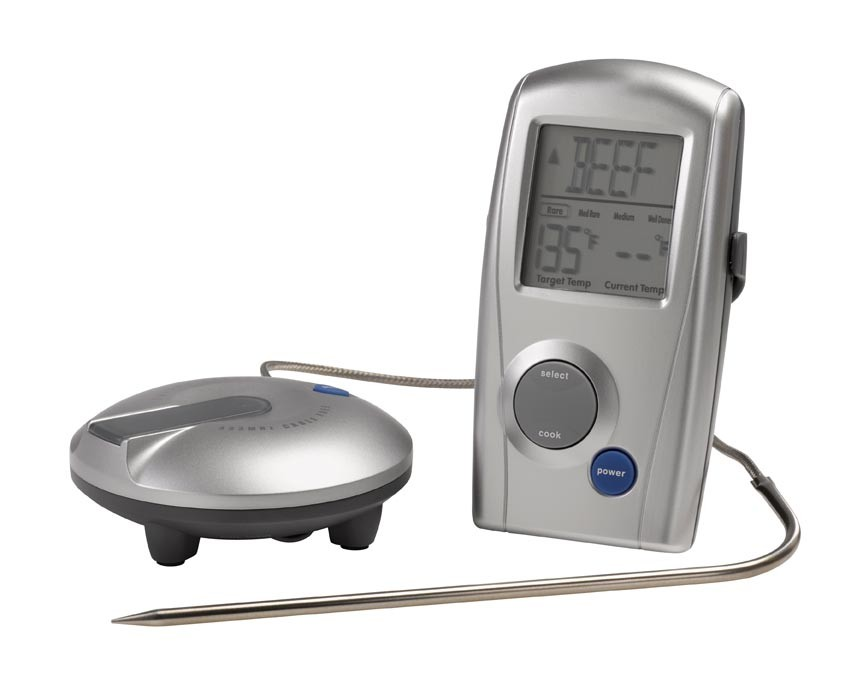 dancook grill thermometer digitial funkthermometer ebay. Black Bedroom Furniture Sets. Home Design Ideas